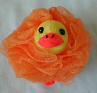 Ducky Nylon Bath Sponge