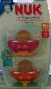 NUK Large Orthodontic Pacifiers